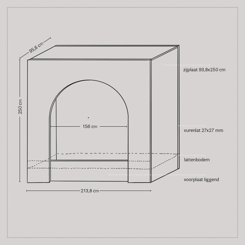 vtwonen 2020 DIY special 2 | bedstee tekening