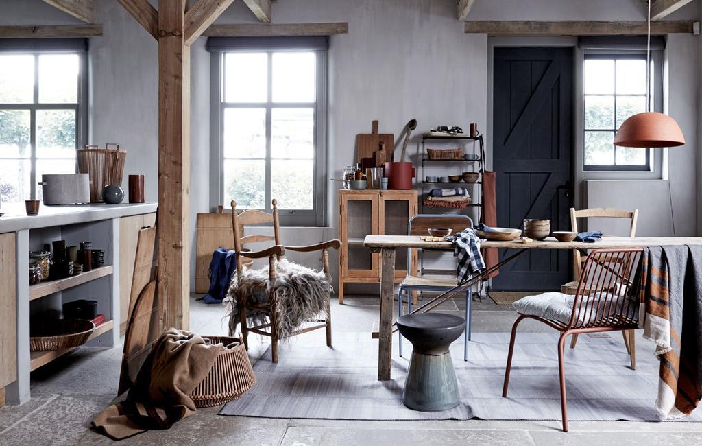 vtwonen 11-2019 | modern country styling keuken leefkeuken