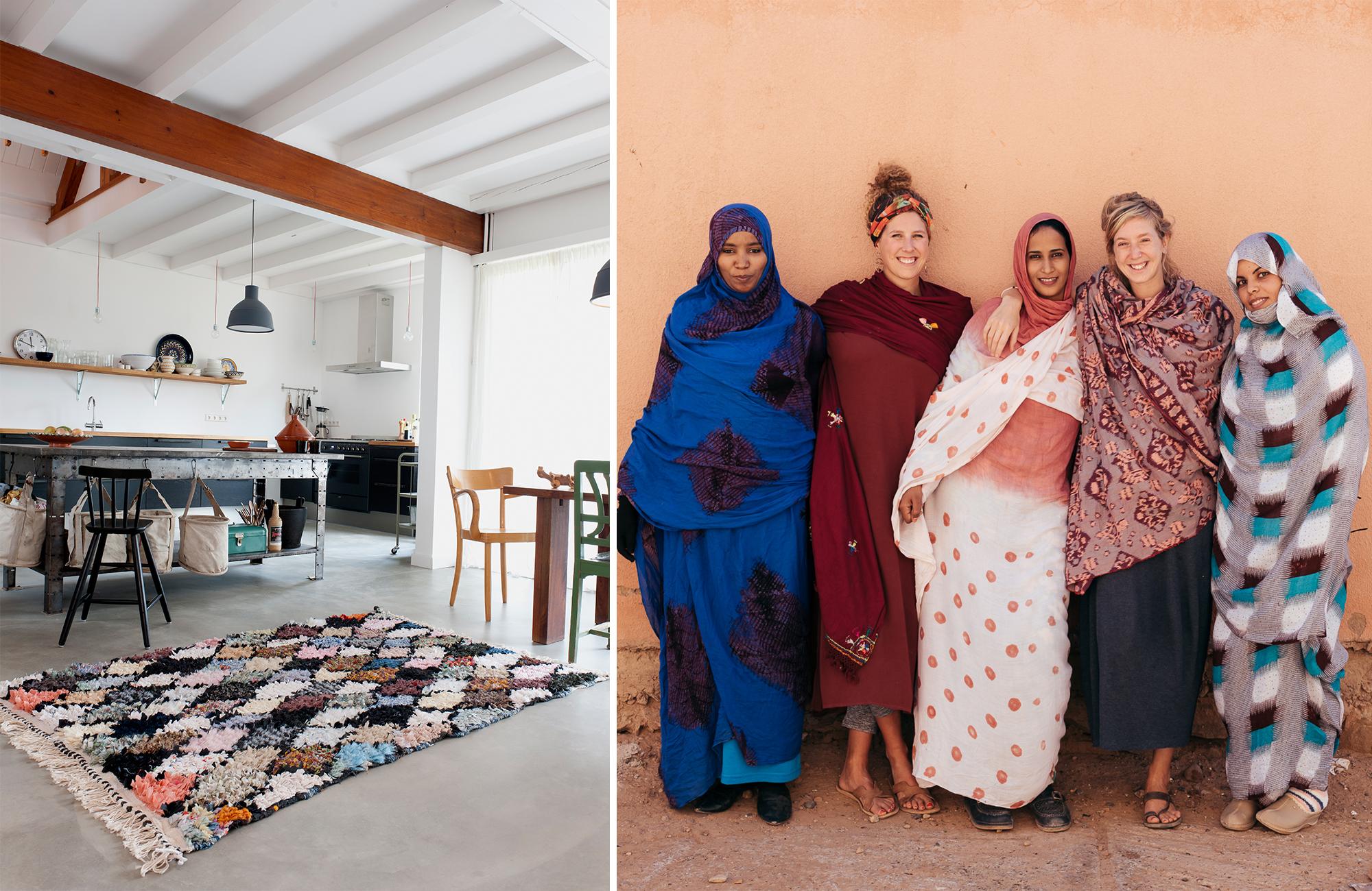 carpet of life marokkaanse tapijten