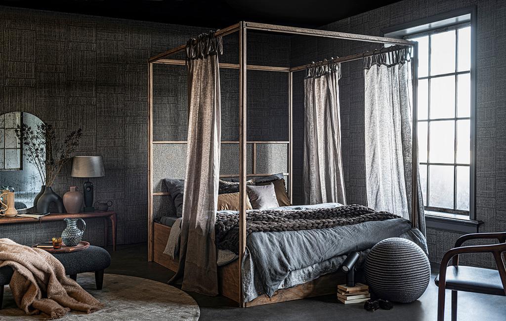 vtwonen 02-2021 | hemelbed in slaapkamer