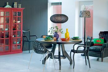 theatrale kleuren in je interieur