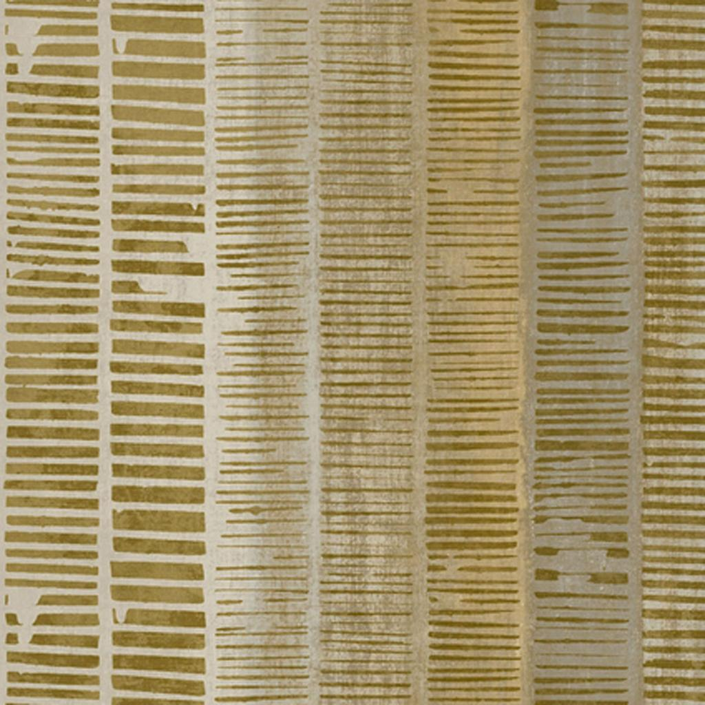 vliesbehang goud bruin horizontale strepen
