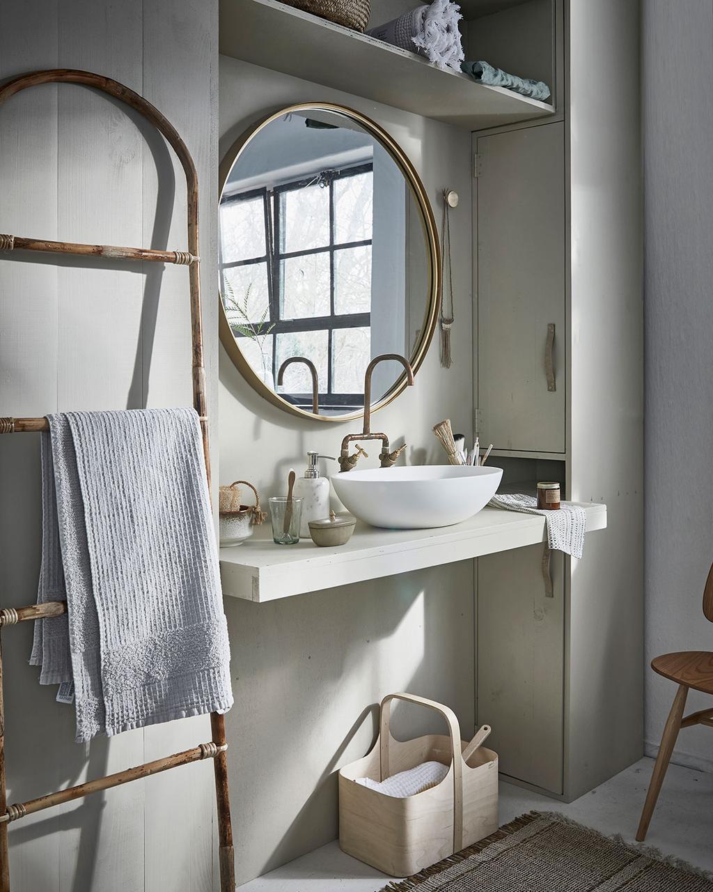 Badkamer met ombouwkast