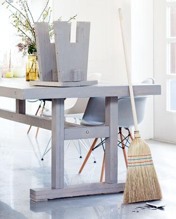 steigerhout meubels tafel