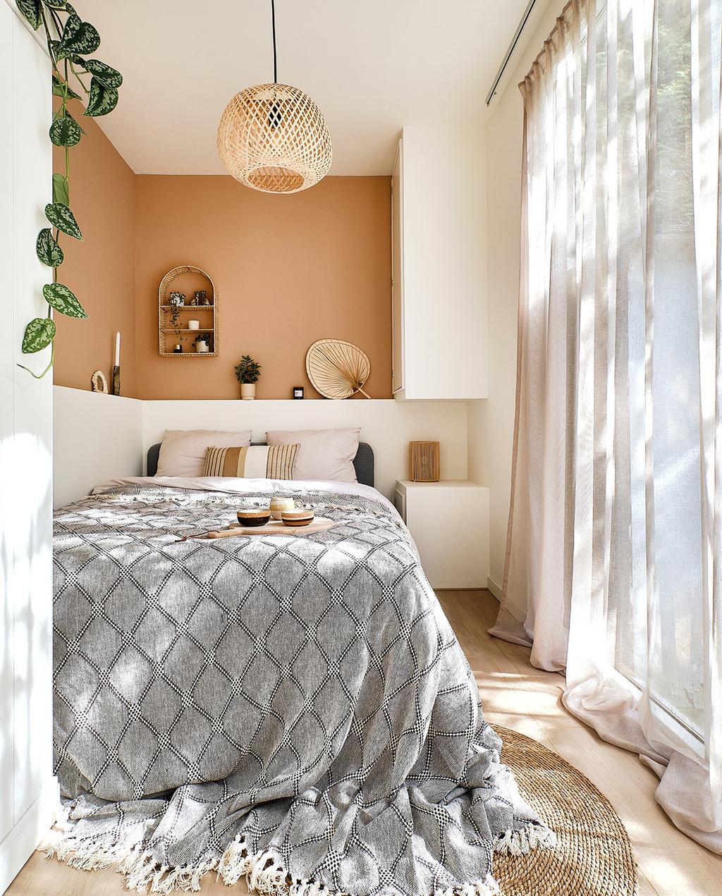 vtwonen special klein wonen | slaapkamer met opgemaakt bed