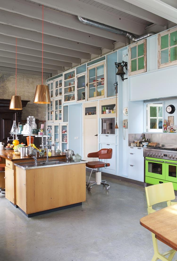 keuken kleur