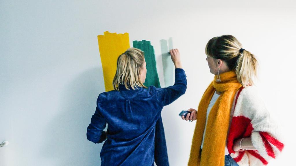 vtwonen stylisten Ozanne en Guillemine Mertens