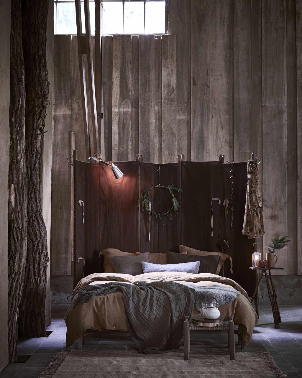 Winter lodge stijl | slaapkamer