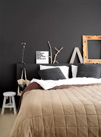 bed naturel dekbed bruin