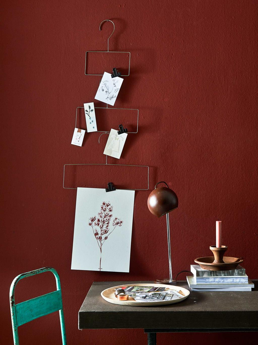 vtwonen collectie voor de feestdagen - Metalen kerstboomhangers - vtwonen