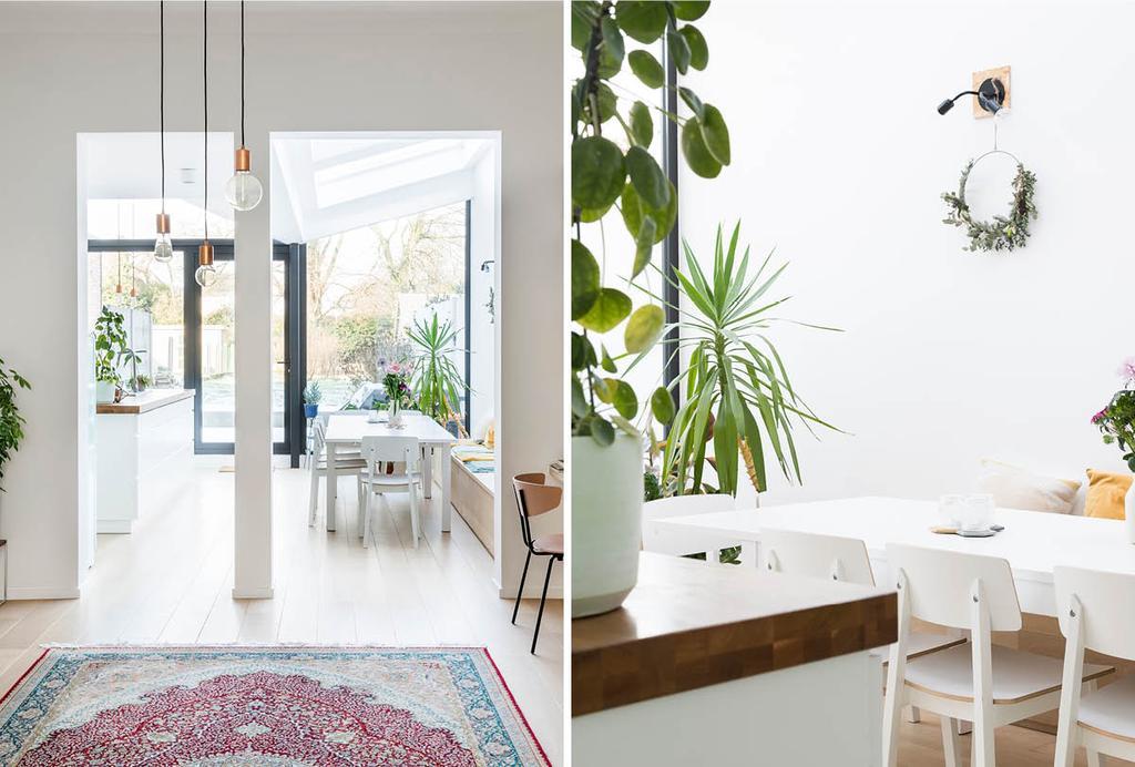 Tussenwoning in Scandinavische stijl