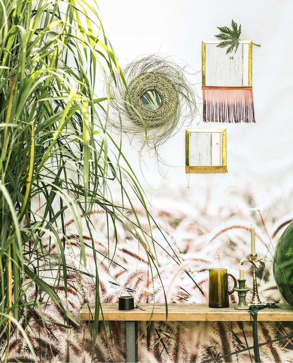 vtwonen tuin special 2 2020 | tuin wand decoratie Franjes styling
