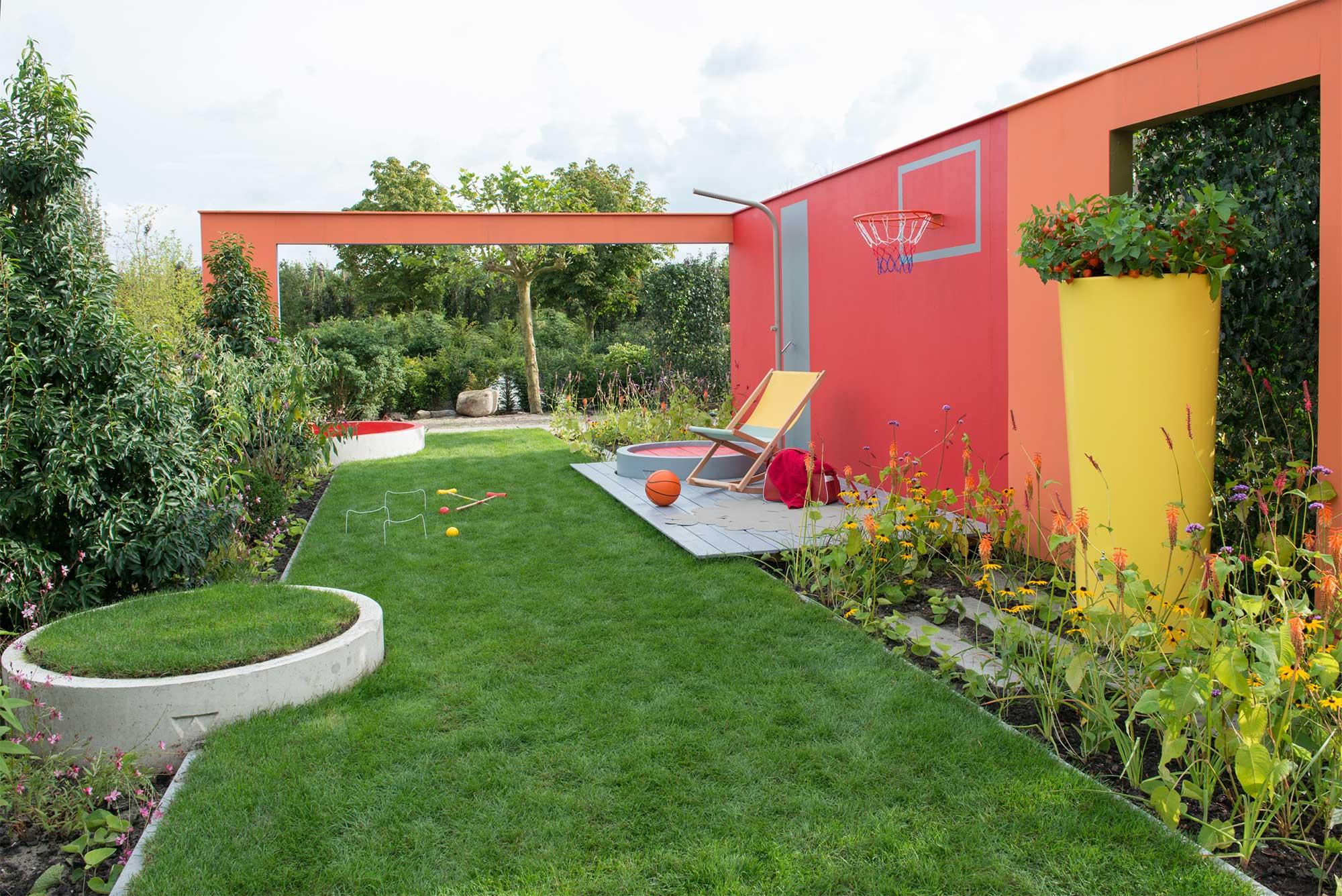 kleurrijke tuin