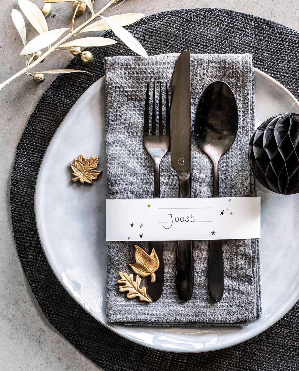 vtwonen | DIY feestprints tafelschikking feestdecoratie