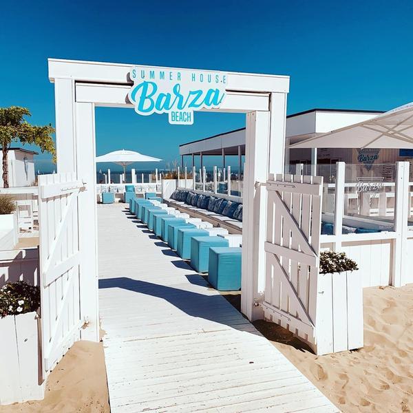 Barza Beach in Nieuwpoort