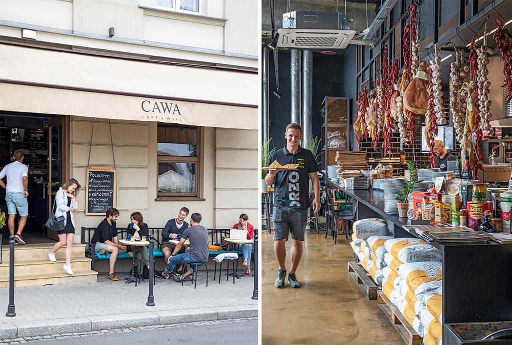 Citytrip Krakau restaurant cawa en orzo