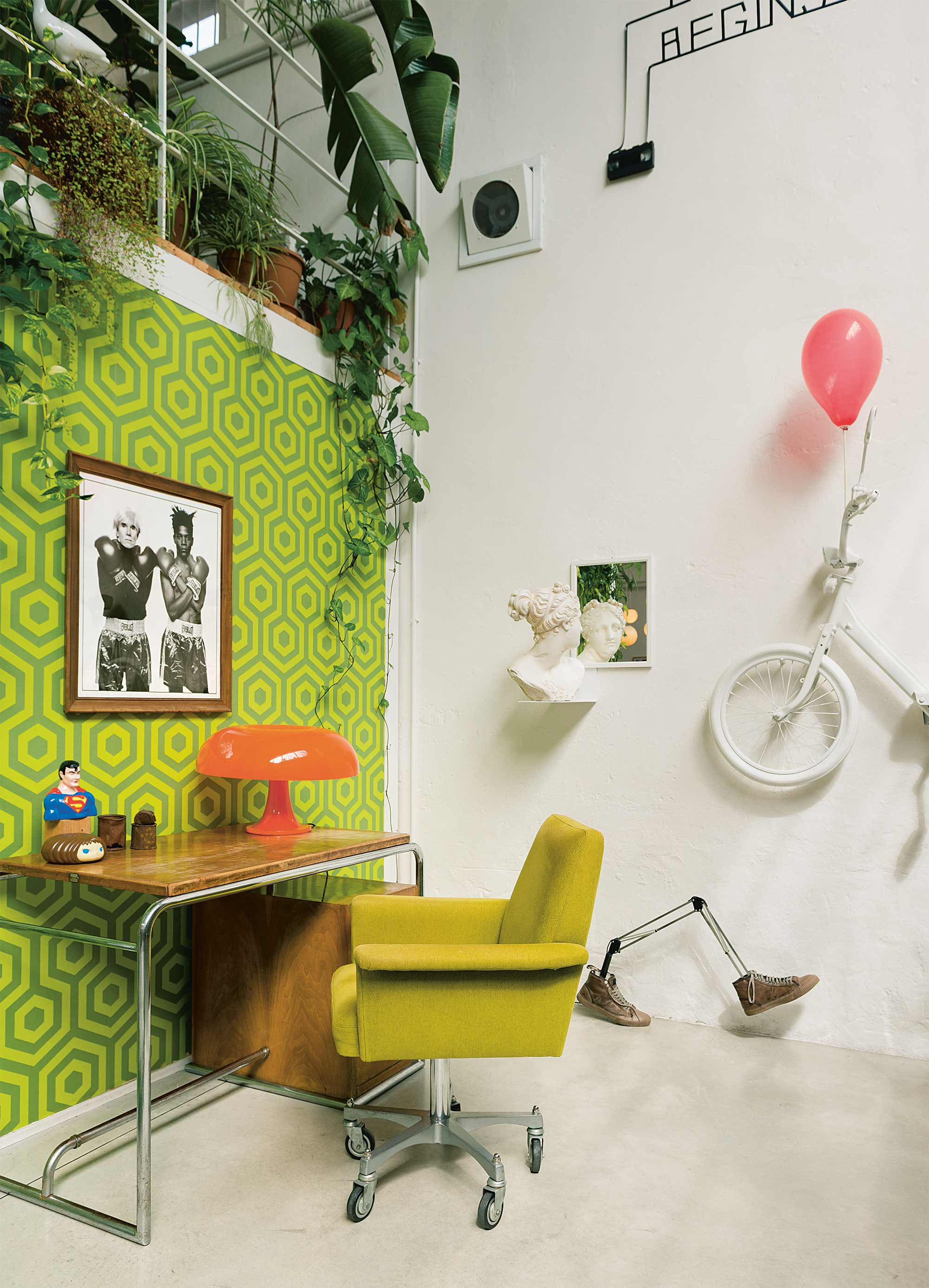 groene werkplek