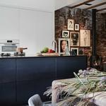 keuken groen zwart