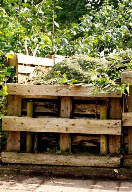 Composthoop maken