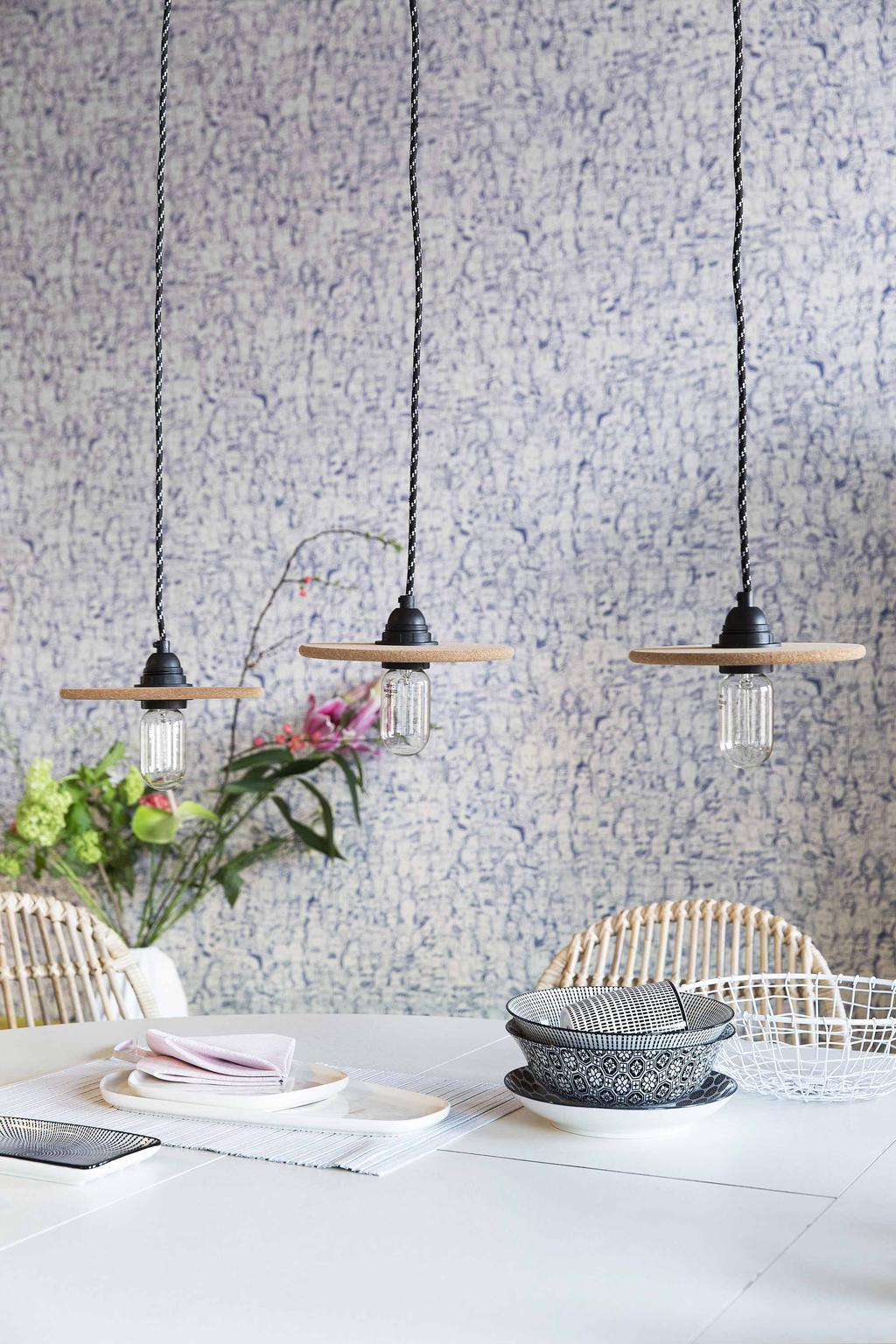 DIY: kurken hanglamp zelf maken
