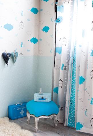 gordijnen babykamer