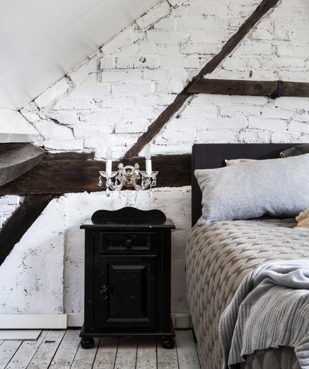 boerderij-slaapkamer-zwart-wit