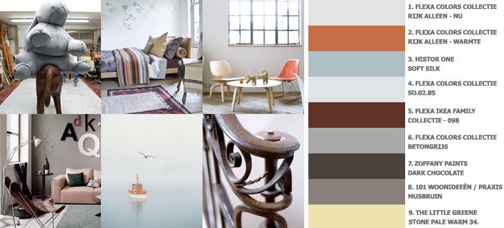 Basicthema Lazy Earth (lente/zomer 2009) - bruine tinten in huis