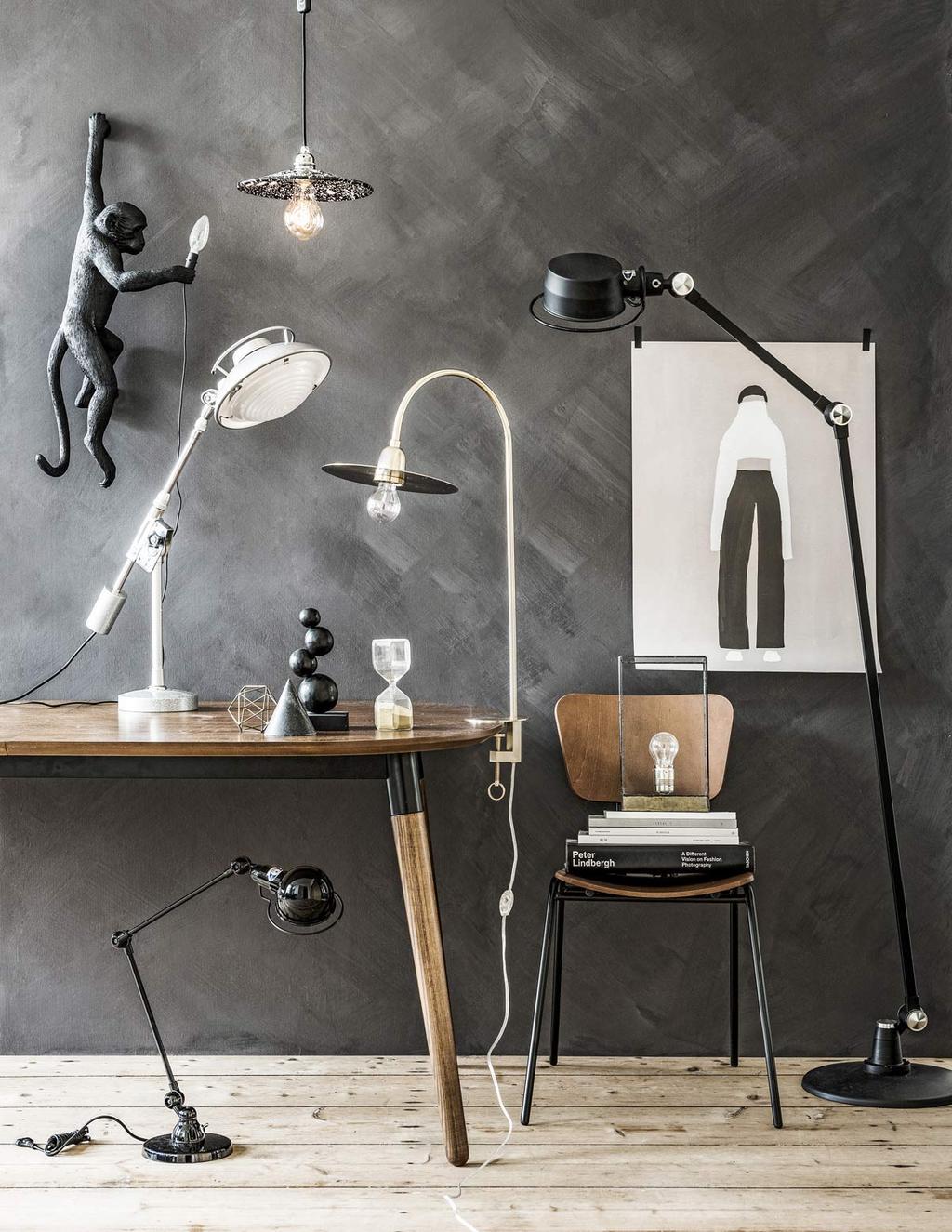 Bureaulampen en leeslicht voor in de werkplek.