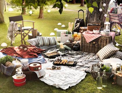 Ikea zomerse picknick