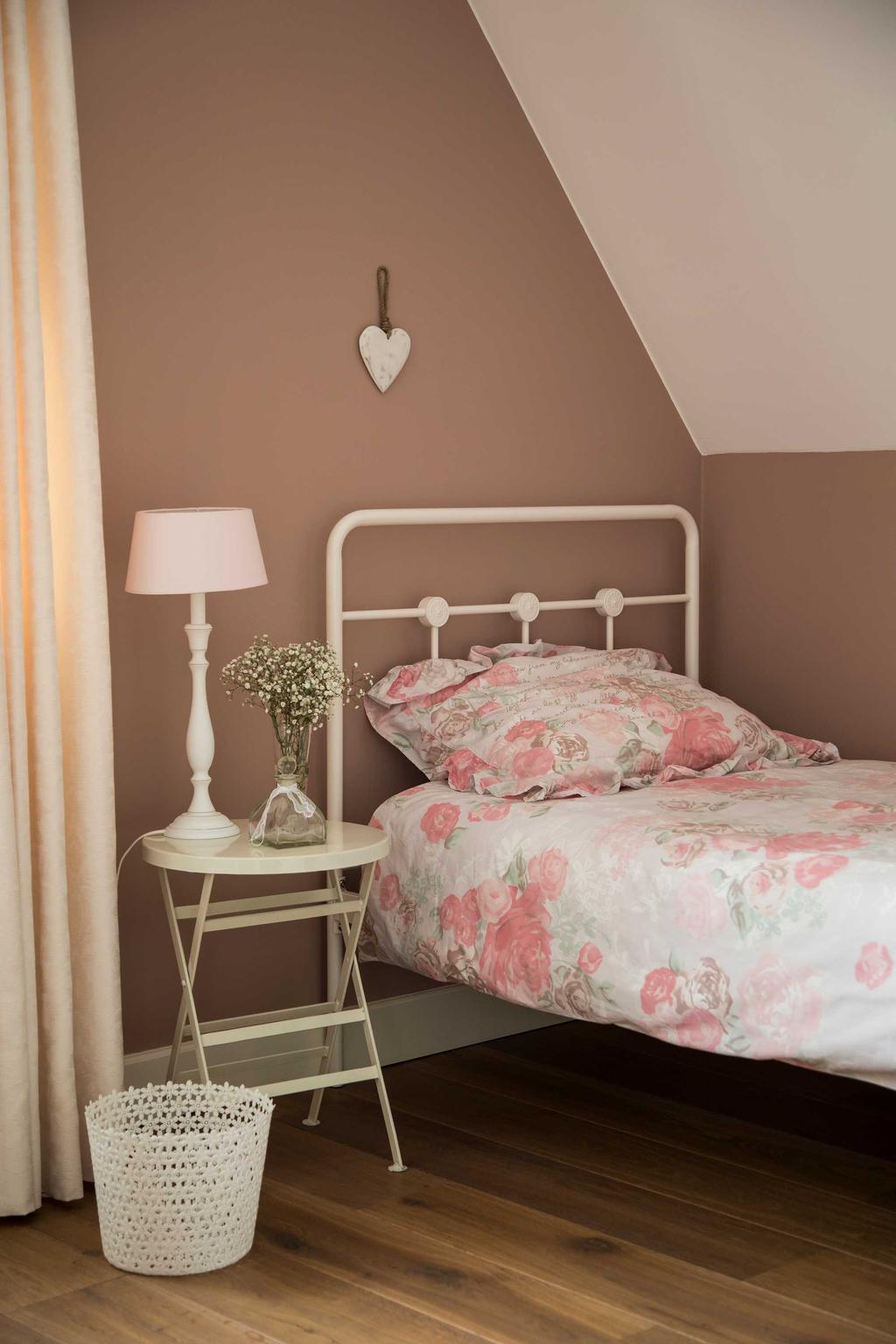 pastoriewoning slaapkamer