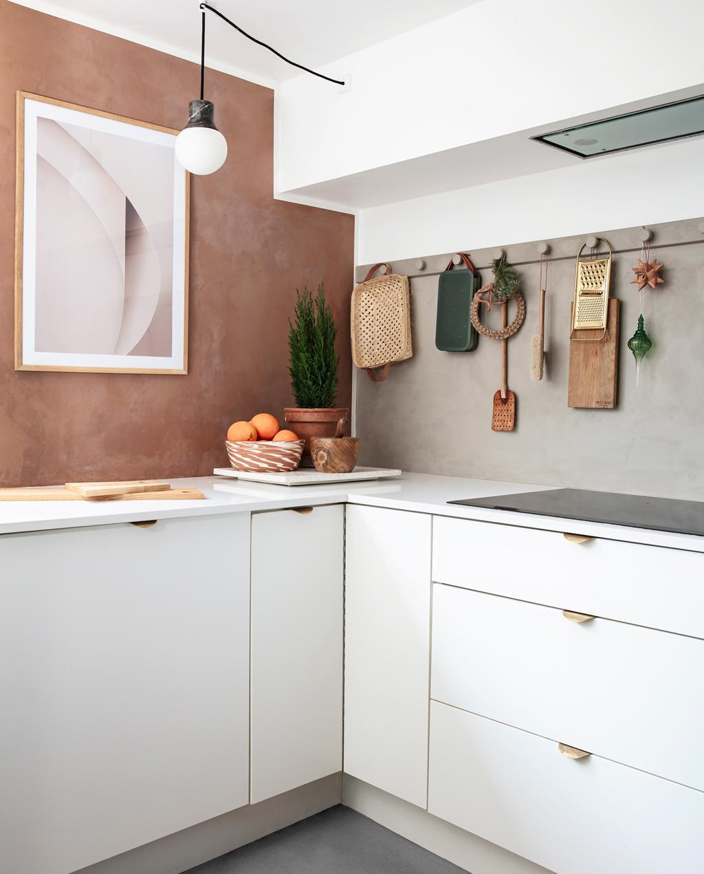 vtwonen 13-2019 | binnenkijken in een bungalow in Kopenhagen keuken