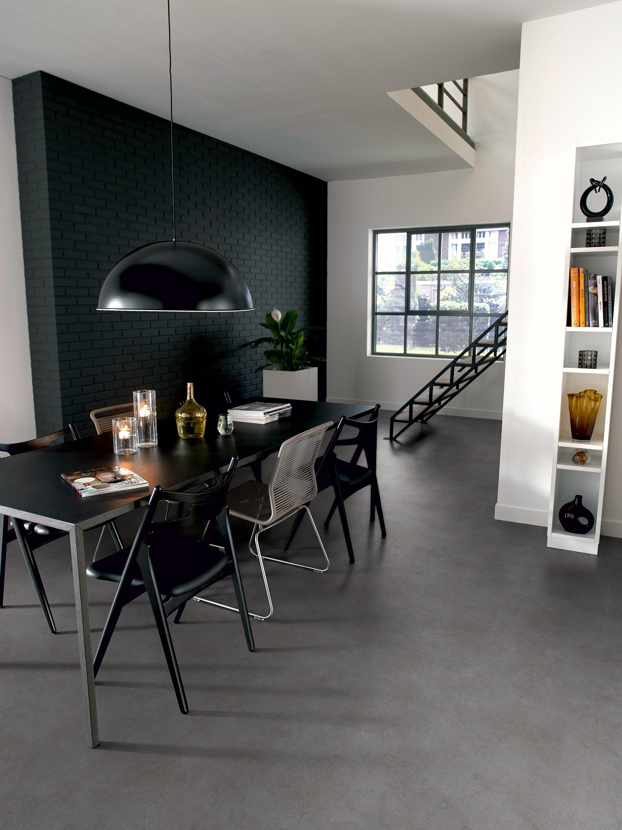 Novilon vloer beton