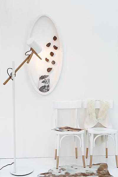flexibele staande lamp