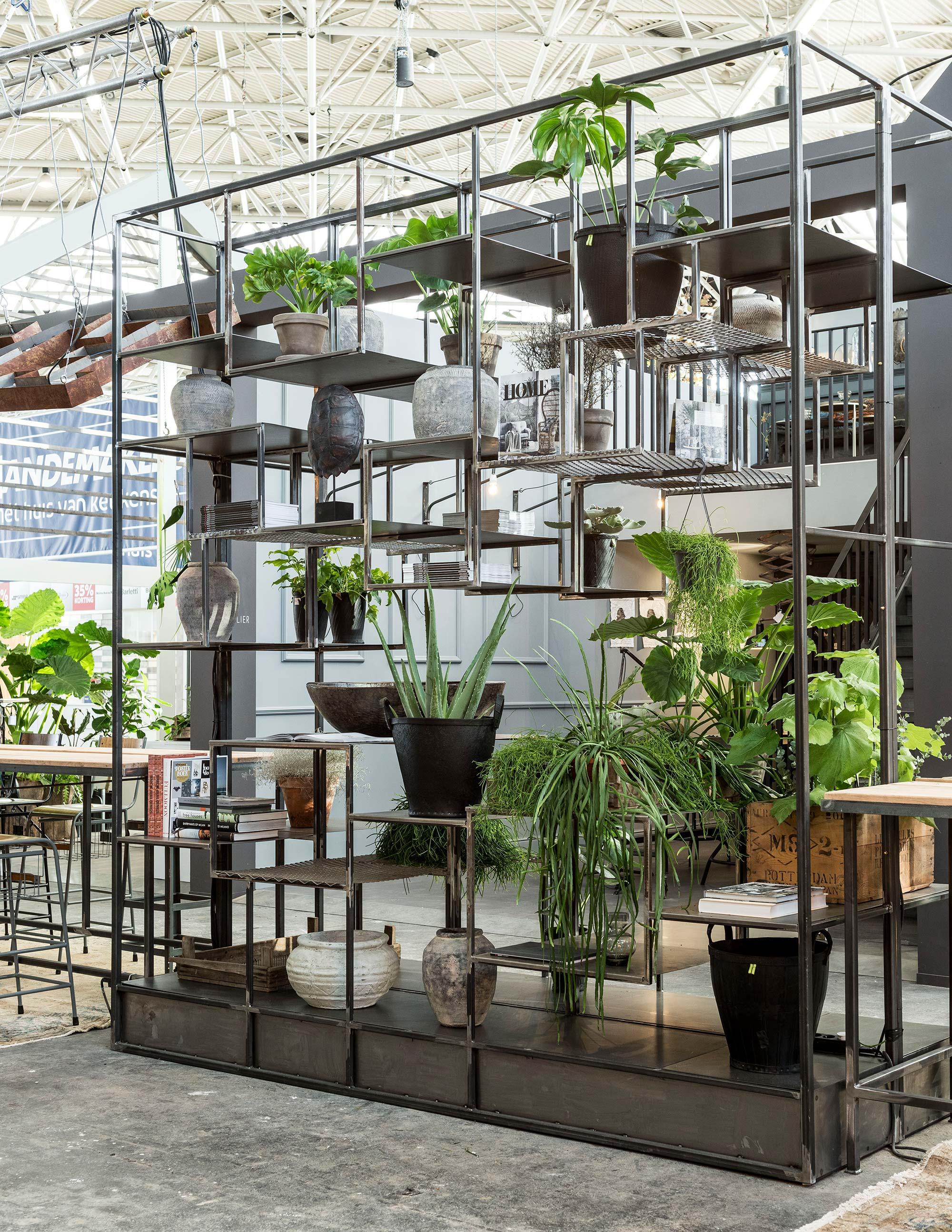 Kast van Exclusive Steel op de vt wonen&design beurs