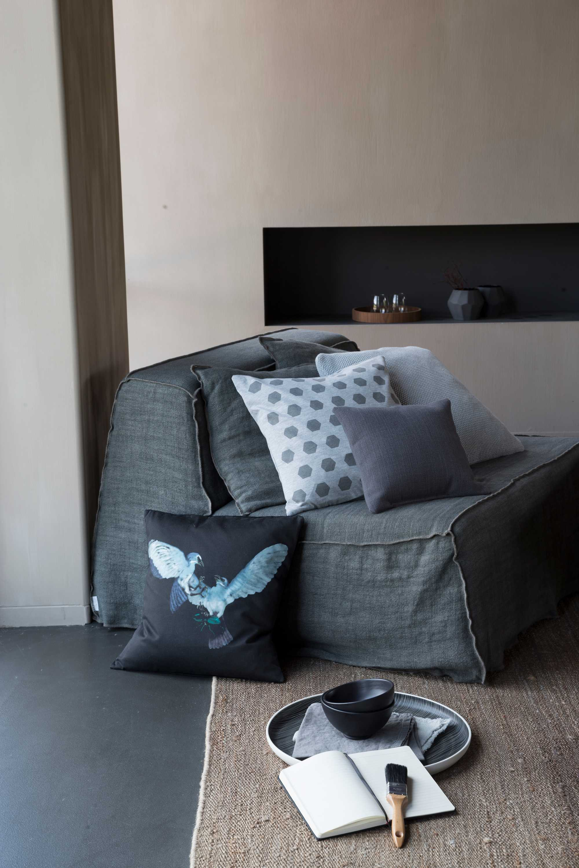 sofa peinture
