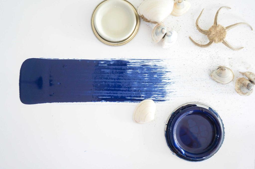 strandkleuren blauw ster