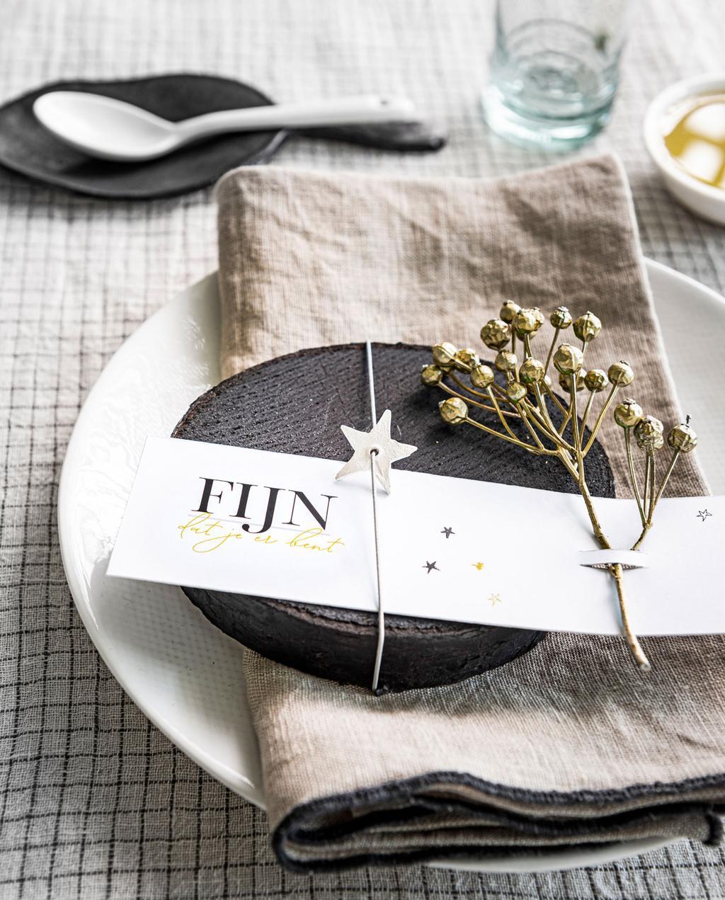 vtwonen | DIY feestprints welkomskaartje feestdecoratie