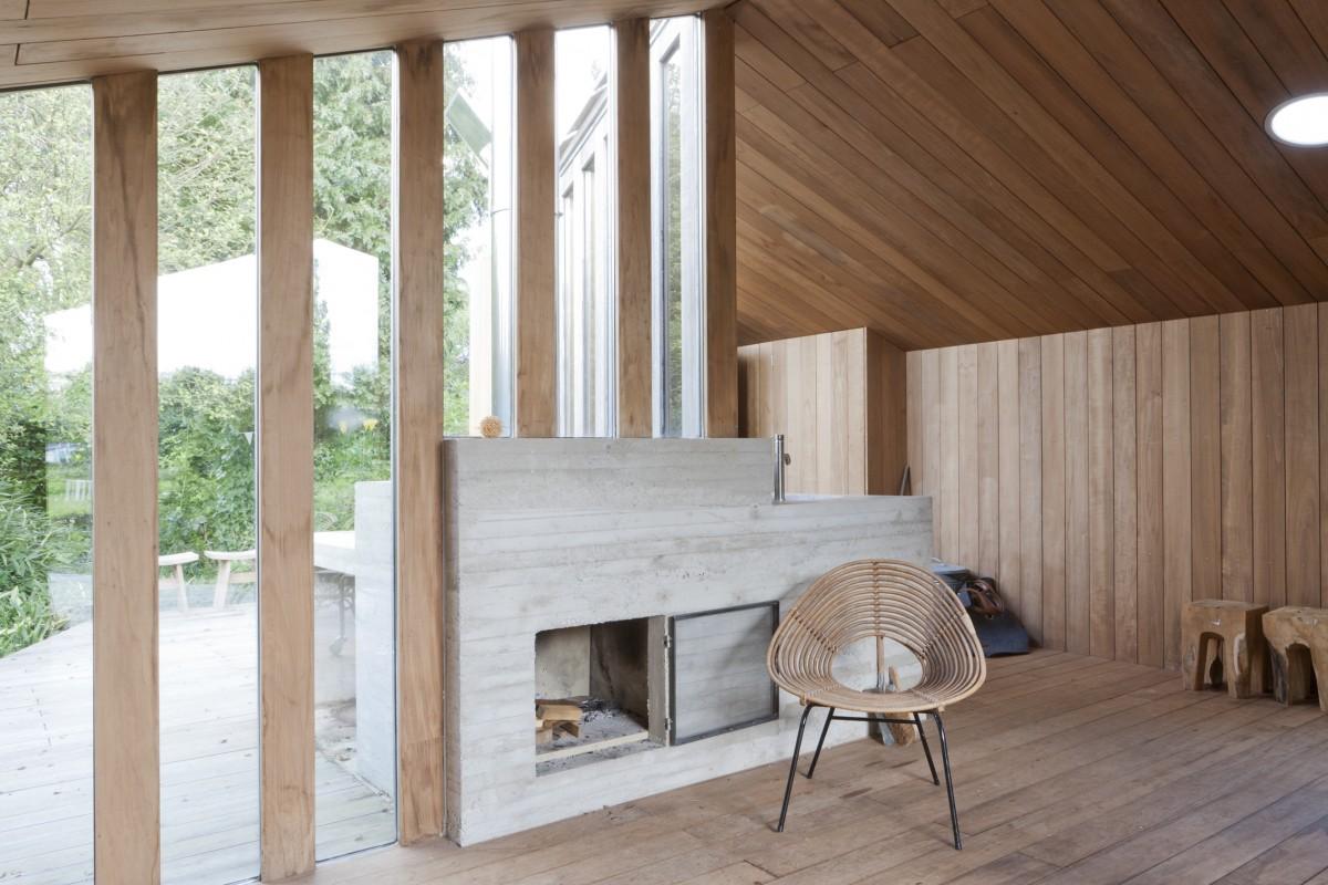 houten huisje