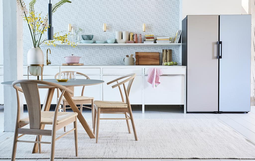 Alles in stijl: zo maak je van de keuken een kleurrijk geheel - Samsung