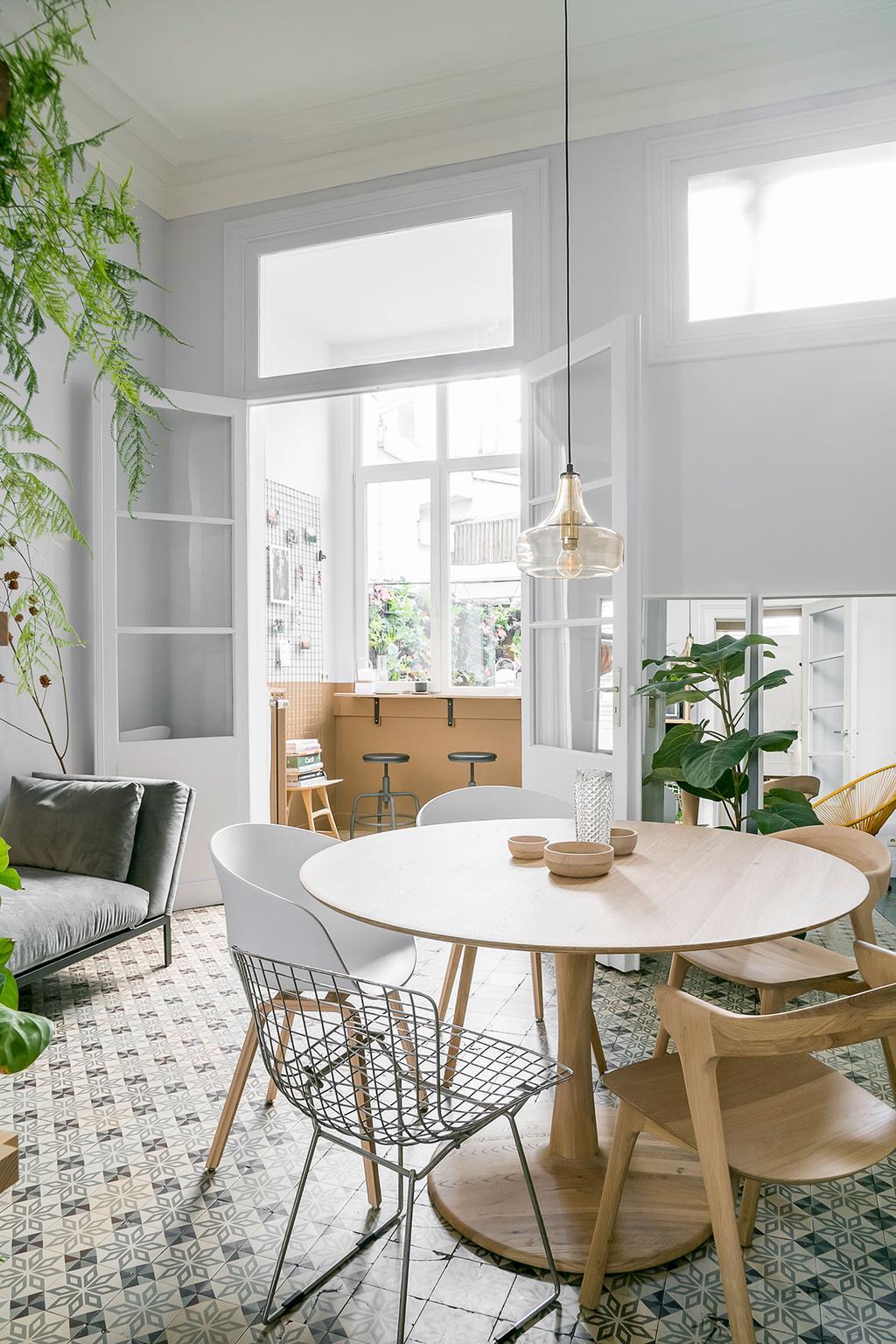De hoge plafonds van Lukas en Katrien uit de tweede aflevering van het tweede seizoen van 'Een frisse start met vtwonen'.