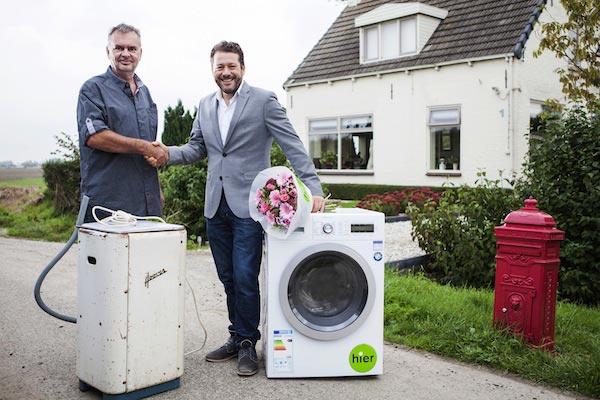 minder stroom verbruiken met de wasmachine