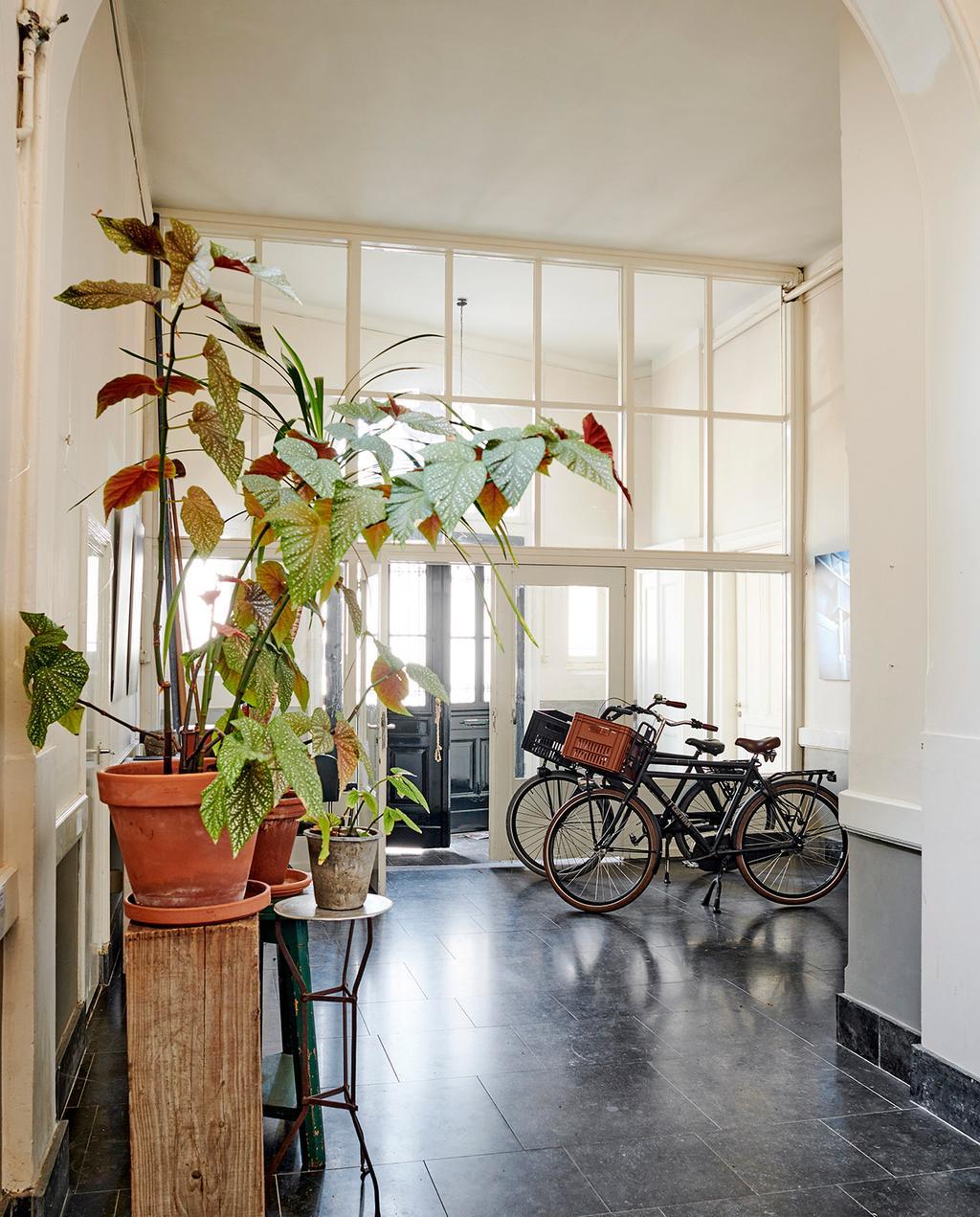 vtwonen 07-2021 | fietsen in het huis met grote ramen