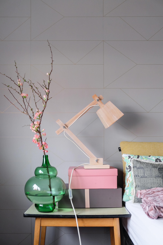 Houten bureaulamp Muuto