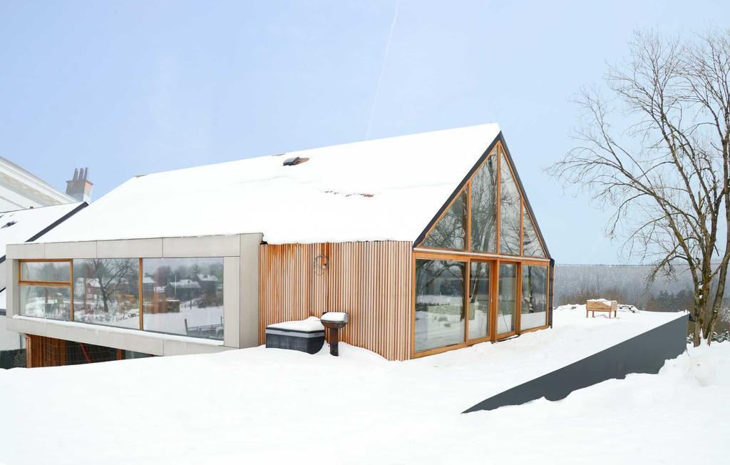 Binnenkijken energiezuinig nieuwbouw hout