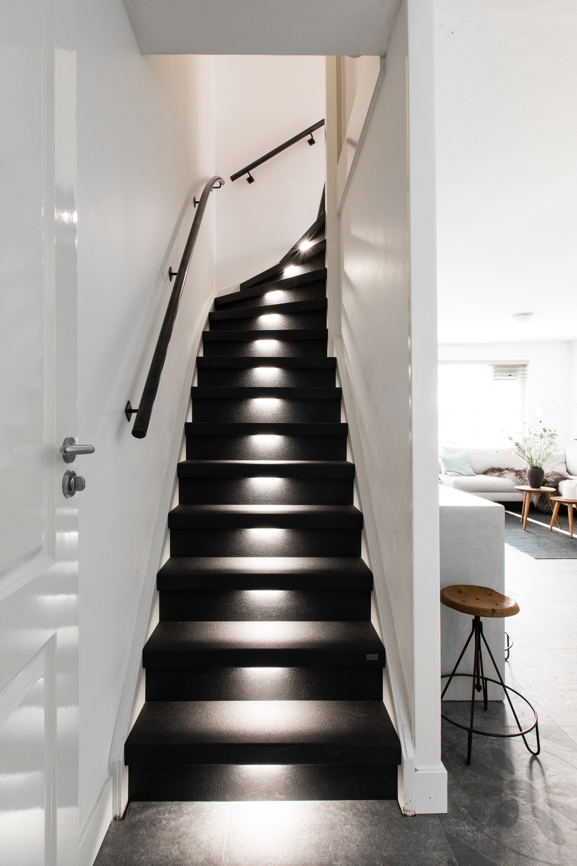 zwarte trap