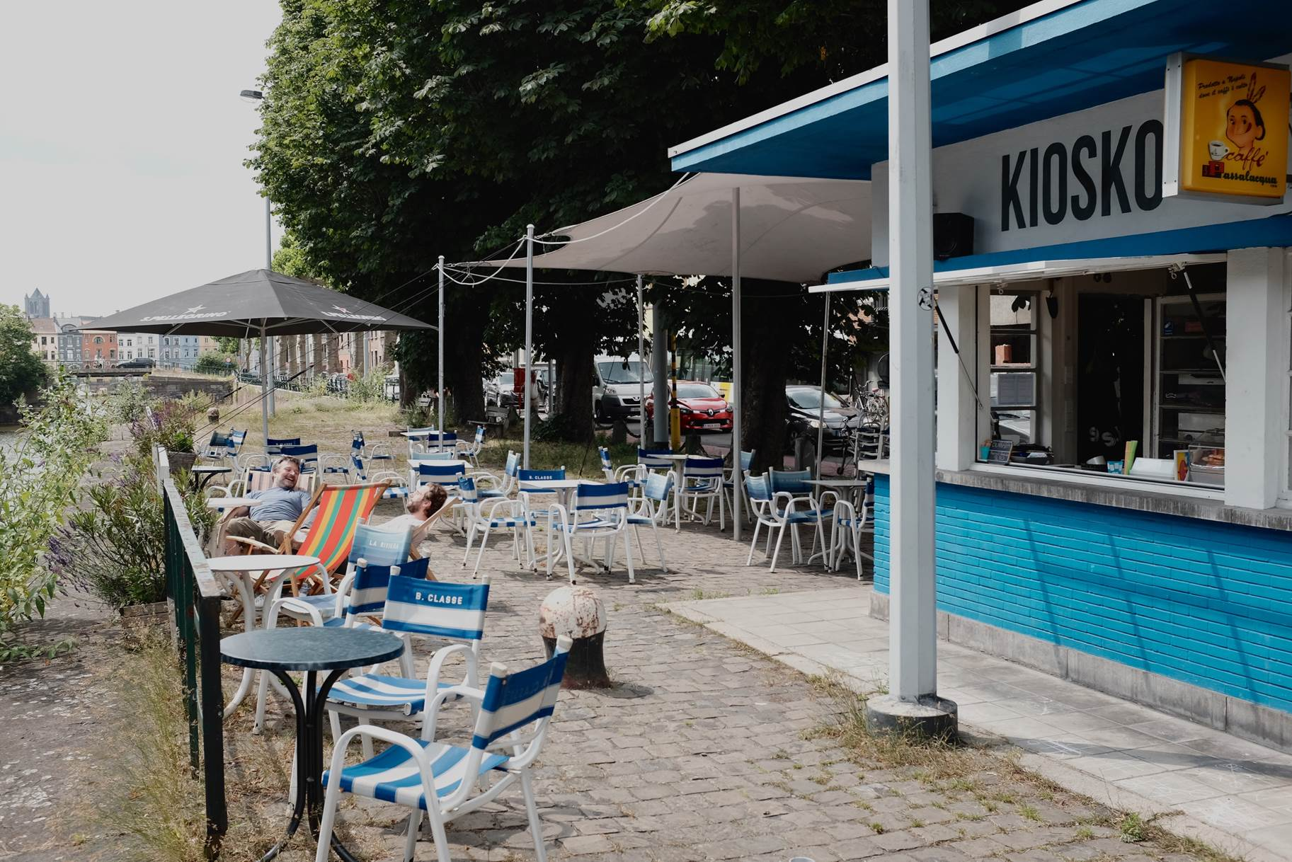 kiosko gent zomerbars
