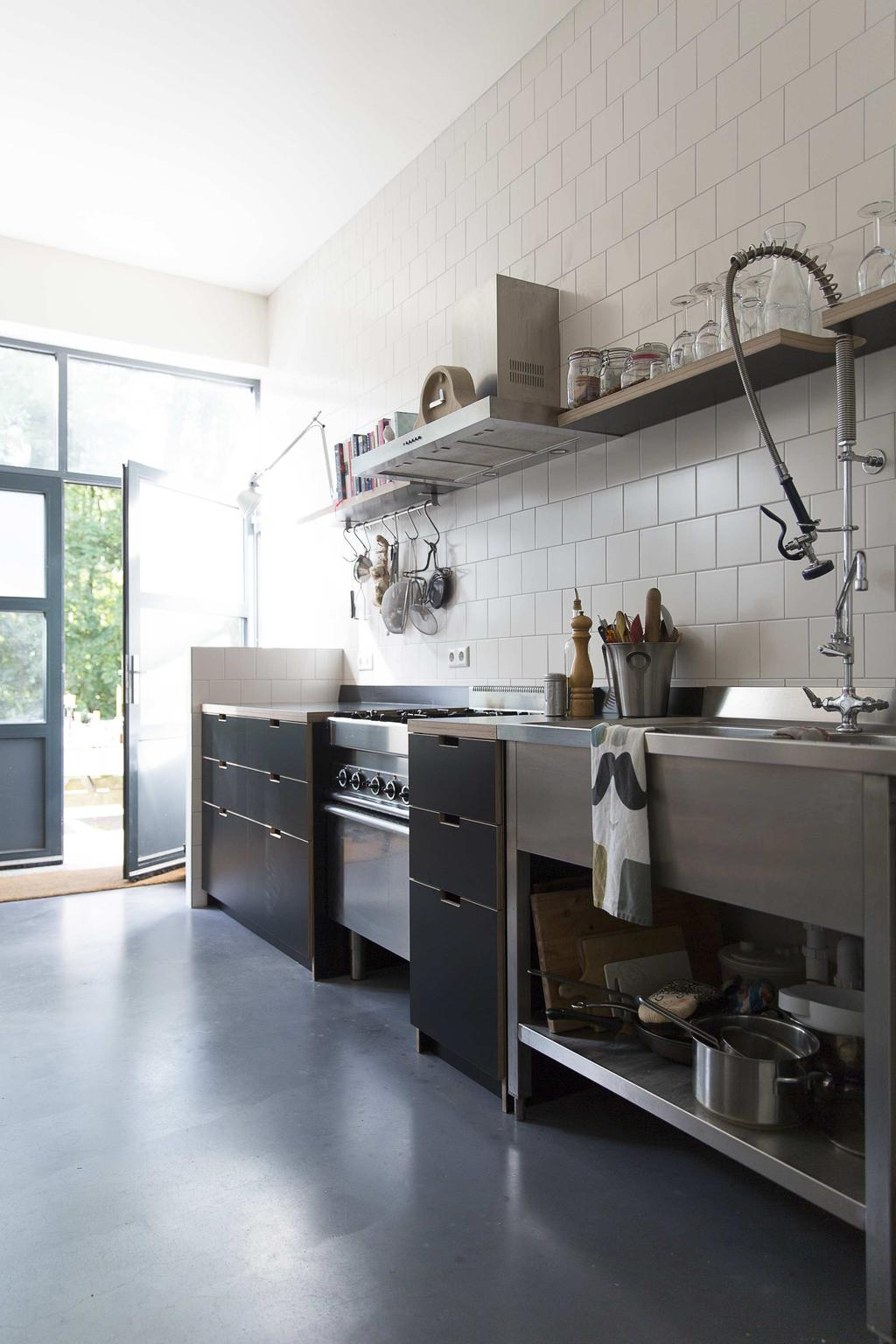 keuken betonnen vloer