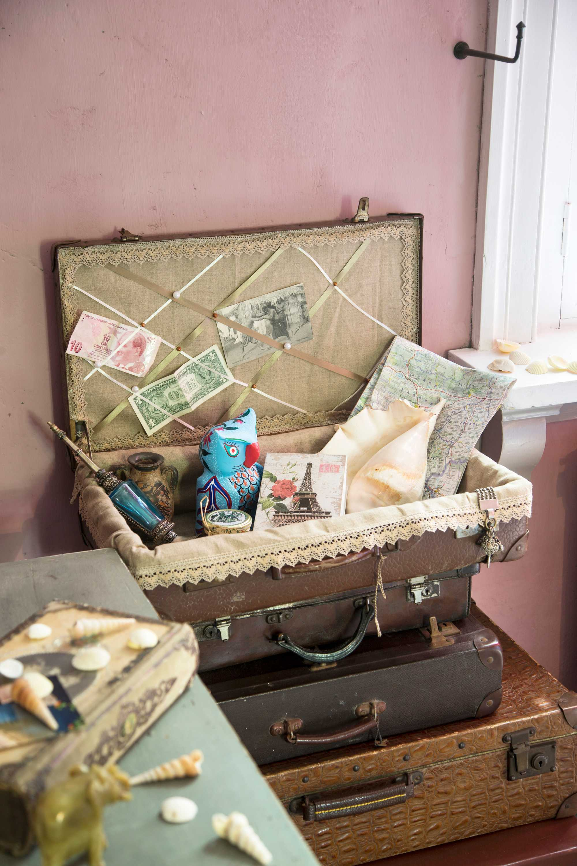 DIY koffer vol herinneringen