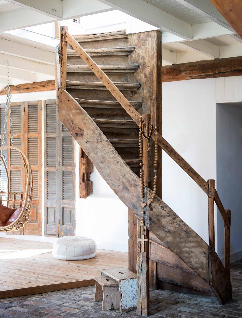 houten trap