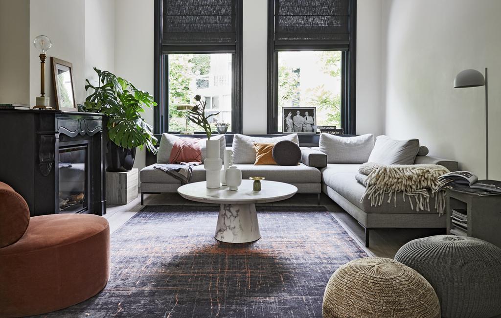 vtwonen 13-2019 | styling Marmer: unieke en chique uitstraling woonkamer